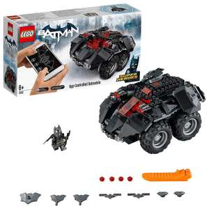 LEGO 76112 DC Super Heroes App-Controlled Batmobile now £54.99 delivered at Amazon