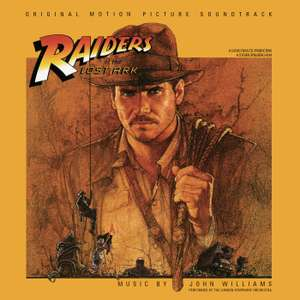 John Williams - Raiders Of The Lost Ark [VINYL] Double Vinyl, 2CD, Gatefold now £12.94 (Prime) + £2.99 (non Prime) at Amazon
