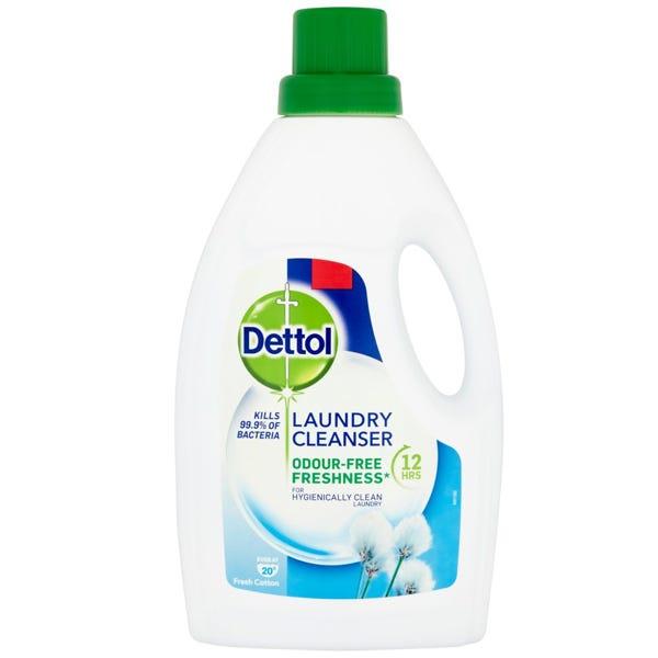 Dettol Laundry Cleanser 1L now £1 (or 6 for 90p each) (plus £4.95 delivery min spend £20) @ Poundshop