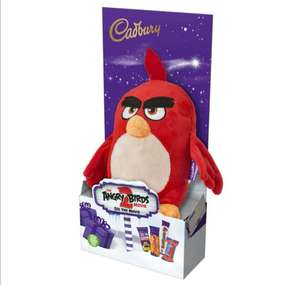 Cadbury Angry Birds Red & Bomb Plush Toy Selection Box £1 @ Sweets Galore Metro Centre