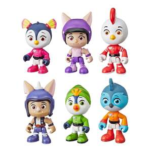 Top Wing 6 figure collector toy set for £6.50 @ The Entertainer