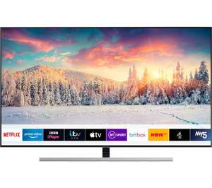 "SAMSUNG QE65Q80RATXXU 65"" Smart 4K Ultra HD HDR QLED TV with Bixby £1,499 at Currys PC World"