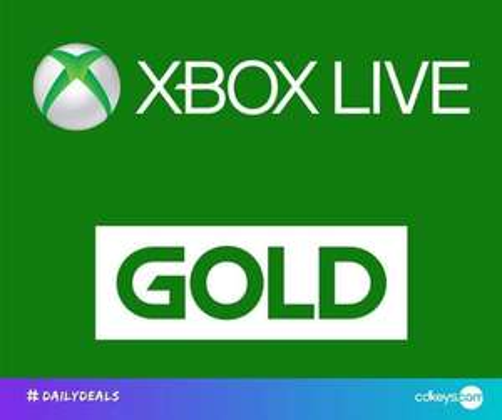 12 Months XBox Live Gold [Brazil] £23.99 @ CD Keys