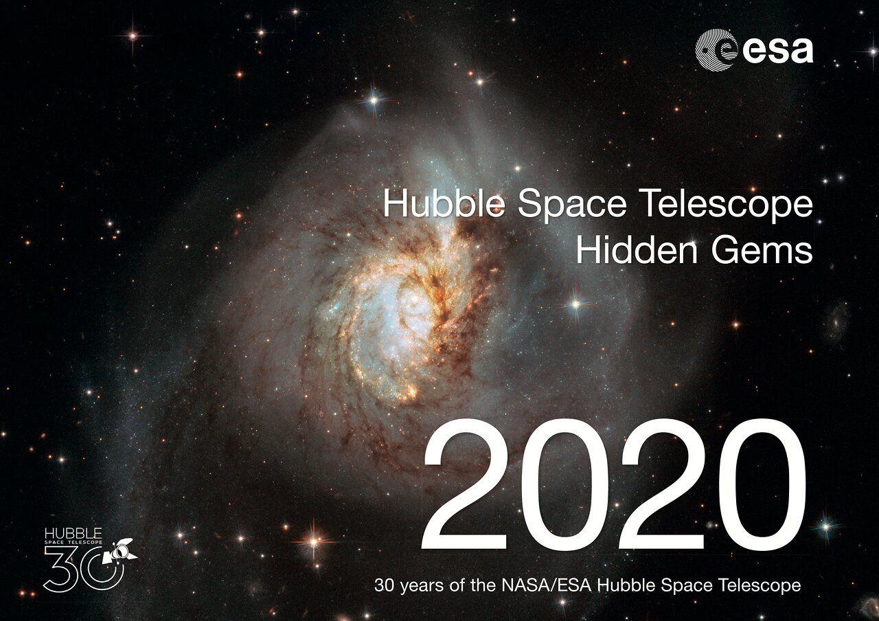 Hubble Space Telescope Hidden Gems 30th Anniversary Calendar - Free (self-print) @ spacetelescope.org