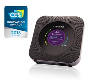Netgear Nighthawk M1 4G+ LTE Mobile broadband pocket Wifi router £225 on O2 Refresh