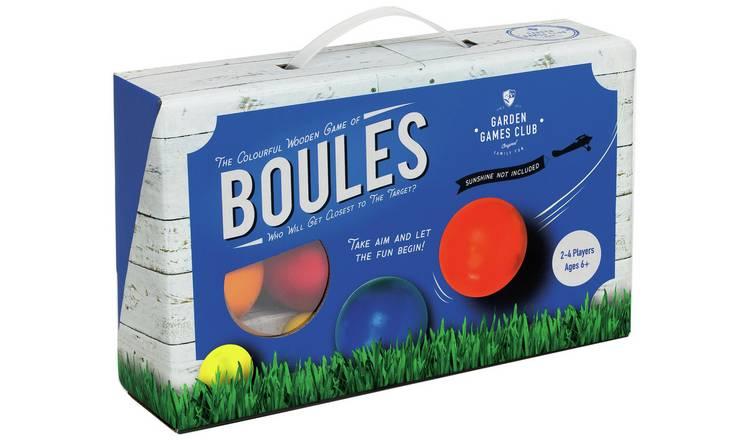 Garden Games Club Proffessor Puzzle : Wooden Boules Set / Wooden Quoits , £6 @ Argos + Free Click & Collect