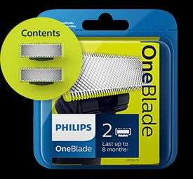 Phillip's One Blade replacement pack of 2 £10.99 at Philips Shop