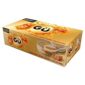 Gu 4x Sumptuous Salted Caramel Cheesecakes £1.50 (Or £1 per box of 2) In store @ Heron Foods