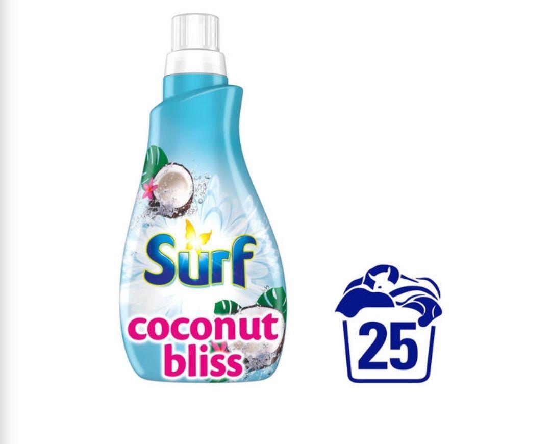 Surf Coconut Laundry Liquid 875 ML £2.50 @ Iceland