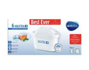 Brita Maxtra+ Filter Cartridges 6 pack £20 at Waitrose & Partners instore and online