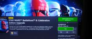 Star Wars Battlefront 2 Celebration Edition Upgrade - £15.39 at Xbox Store