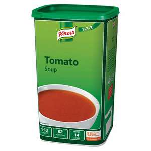 Knorr 1.32kg Tomato Soup Catering size tin (makes 14 litres) - £2 @ Fulton Foods
