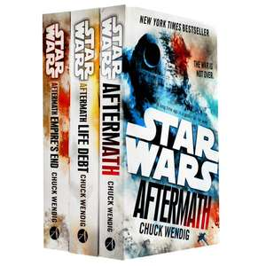 Star Wars Aftermath Trilogy 3 Book Collection £7.50 (with Code) @ The Works +free click & collect