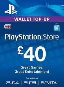 £40 PSN wallet / pre paid gift code for £36.02 @ Electronic First Extra 3% off by liking their FB page £34.94