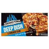 Chicago Town 2 Deep Dish Chicken Club / 4 Cheeses / Ham & Pineapple / Pepperoni / Mega Meaty Pizzas £1 @ Iceland