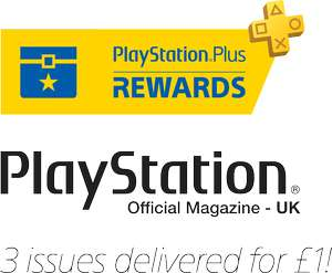 3 issues of Official Playstation Magazine £1.00 - Playstation Rewards