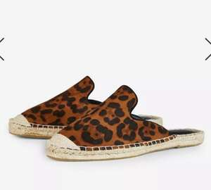 Wide Fit Leopard Print 'Chicago' Espadrilles £4 @ Dorothy perkins Free click and collect