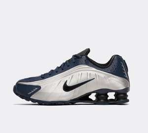 Nike Shox R4 trainers now £69.99 sizes 6 up to 11 @ Footasylum
