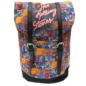 Rocksax Heritage Backpack - The Rolling Stones / BMTH / Run DMC / Metallica And Slipknot - £19.98 delivered @ House Of Fraser