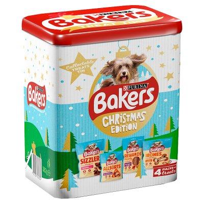 Bakers Christmas Edition Treat Tin 382g - 87p Waitrose & Partners