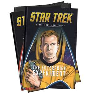 Star Trek mystery 10 pack graphic novels + 3 free gifts £19.99 (+ £1.99 delivery) @ Zavvi