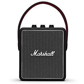 Marshall Stockwell II Portable Bluetooth Speaker in Black - £94.99 @ Amazon