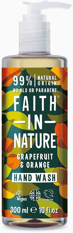 Faith in nature organic grapefruit & orange hand wash, 300ml £1.68 @ Amazon pantry - £3.99 delivery (£15 minimum spend)