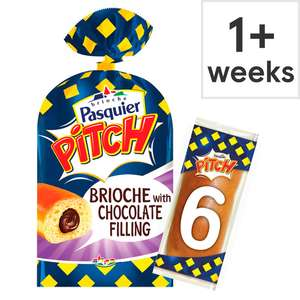 Pitch Chocolate Brioche Roll 6 Pack / Pitch Chocolate Chip Brioche Roll 6 Pack £0.75 @ Tesco