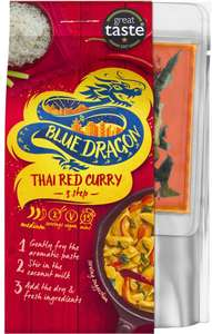 Blue Dragon 3 Step Curries Half Price £1.35 @ Tesco Instore & Online