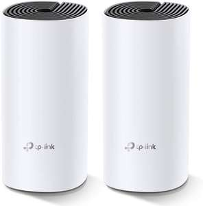 TP-Link Deco M4 Whole Home Mesh Wi-Fi System, Seamless/Speedy 2800 Sq ft coverage (2 Pack) - £74.99 delivered @ Amazon