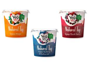 FREE Yeo Valley Natural Tops With an Online Shop (With Code) @ Tesco