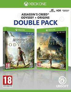Assassins Creed Origins & Odyssey Double Pack Xbox One for £27.19/ PS4 for £29.59 with Code @ Shopto/Ebay