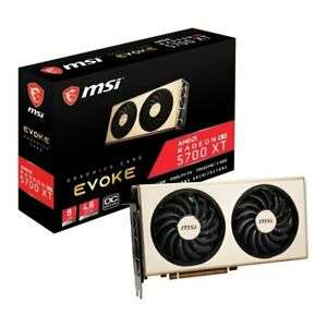 MSI Radeon RX 5700 XT EVOKE OC 8GB Graphics Card And free Borderlands 3 and 3 months game pass for PC @ ebuyer eBay - £334.78