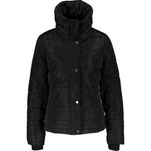 ELLE Black Padded High Neck Jacket now £22.99 click & collect @ TK Maxx