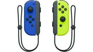 Joy-Con Pair Neon Yellow - Blue £59.19 @ShopTo / eBay