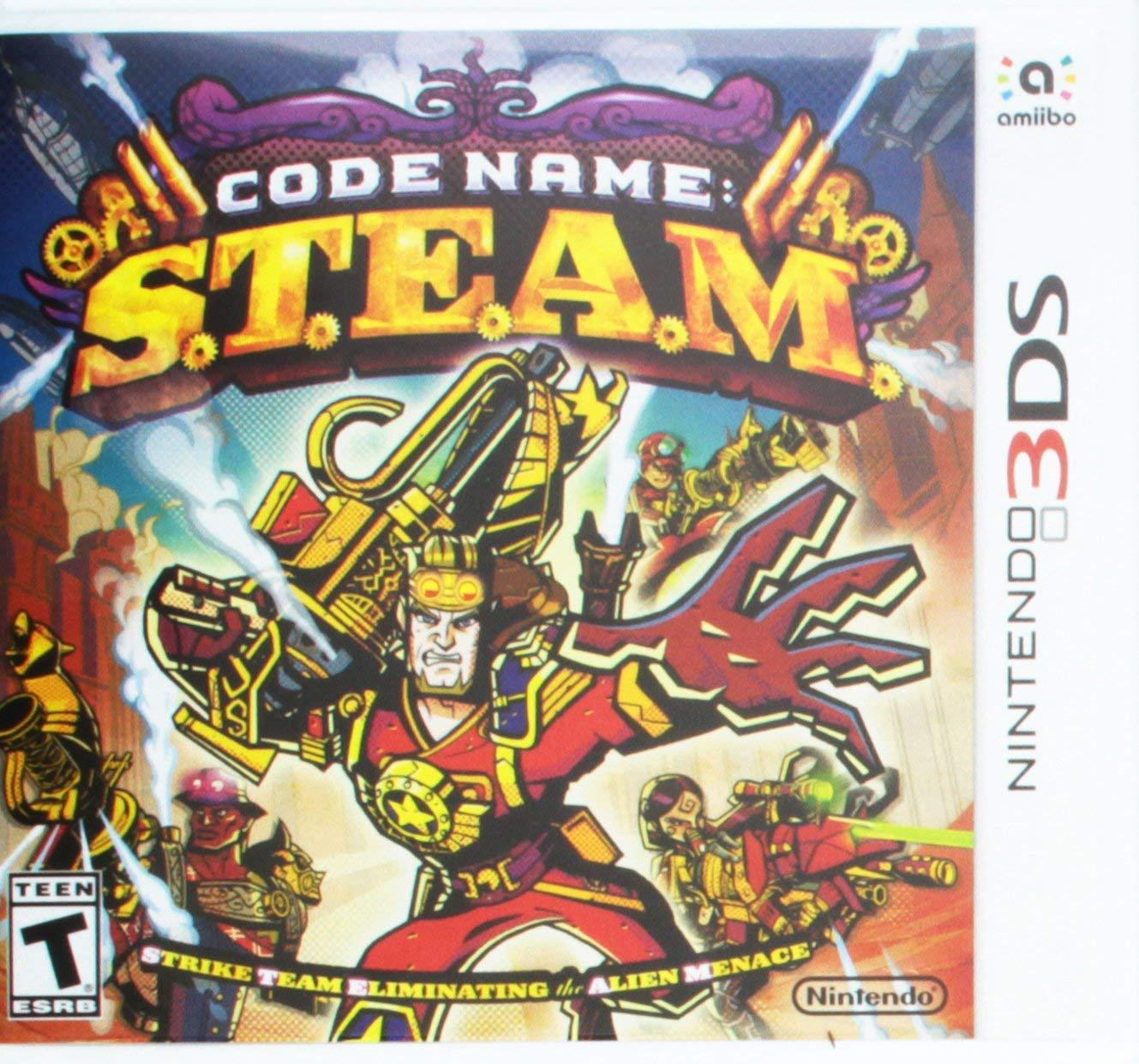 Code Name: S.T.E.A.M. (Nintendo 3DS/2DS) for £2.05 Prime/£4.49 Non Prime @ Amazon UK