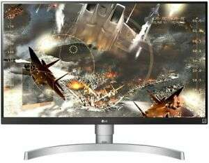 """LG 27"""" Monitor - 27UL650 Class 4K UHD IPS LED Monitor with VESA Display HDR 400 - £268.54 delivered @ Ebuyer Express eBay"""