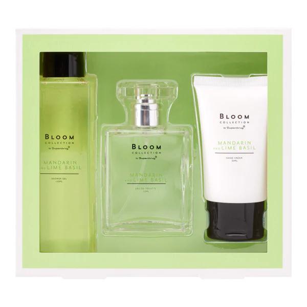 Superdrug Bloom Mandarin & Lime Basil Gift Set £2.49
