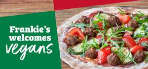 50% off all vegan dishes on 6th, 13th, 17th and 20th January @ Frankie and Benny's using app