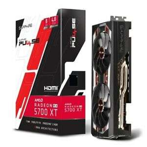 Sapphire Radeon RX 5700 XT PULSE 8GB GDDR6 Graphics Card £343.62 eBay / ebuyer_uk_ltd