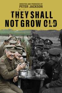They Shall Not Grow Old HD (iTunes Extras) £5.99 @ iTunes