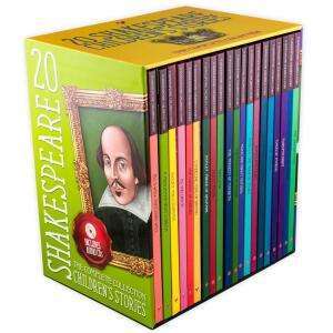 20 Children's Shakespeare Hardback Story Books with Audio CD Collection now £13.99 delivered @ Books2door