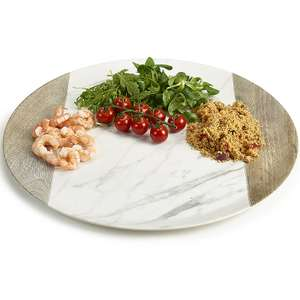 Moderna Melamine Round Tray £3.99 @ Lakeland with free click and collect