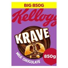 Kellogg Krave 850g - 2 for £6.00 - @ TESCO (Usually £5 for 1 box)