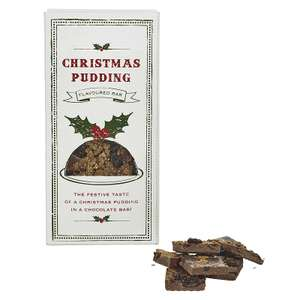 Christmas pudding chocolate bar 99p @ Lakeland with free click and collect