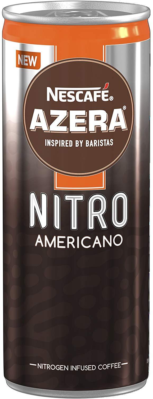 Nescafe Azera Nitro Americano cold coffee 192ml each, £0.50 in store Home Bargains Sheffield