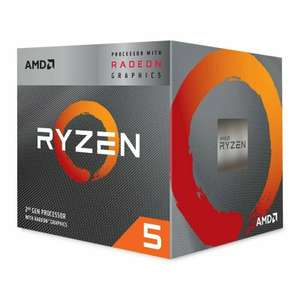 AMD Ryzen 5 3400G AM4 Processor with Radeon RX Vega 11 Graphics and Wraith Spire Cooler £114.04 with code at Ebuyer/ebay