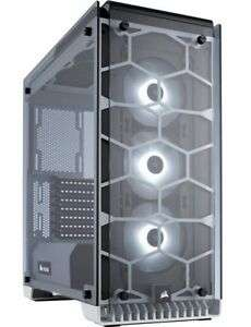 Crystal Series 570X RGB Tempered Glass, Premium ATX Mid Tower Case White £149.09 @ Ebuyer / eBay