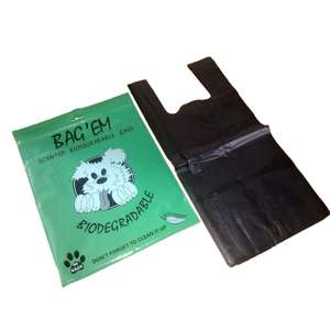 Bag Em Bio Poo Bags (Pack of 50) now £1 add-on item at Amazon
