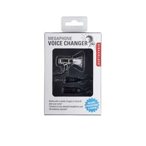 Kikkerland Mini Megaphone Voice Changer for use with a Smartphone - £1.99 @ Lakeland with free click and collect